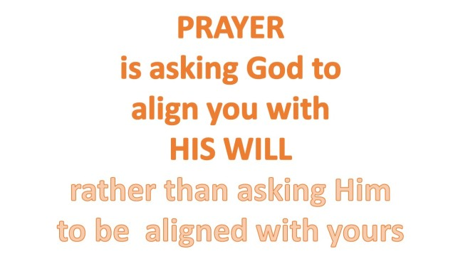 Prayer Is