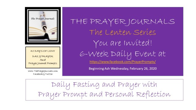 Invitation - 40 DAYS OF LENT